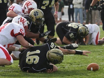 DePauw Fumbles in the Bell Game