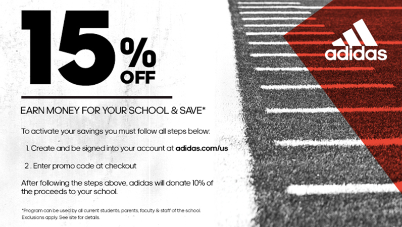 tout neuf 17fcd 88769 Adidas Discount Promotion Now Available! - Wabash College ...